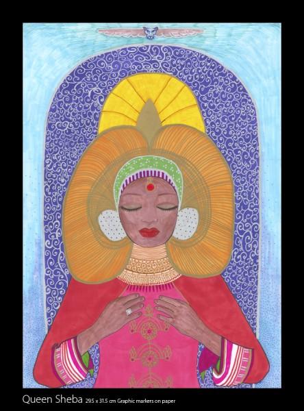 Queen Sheba Drawing