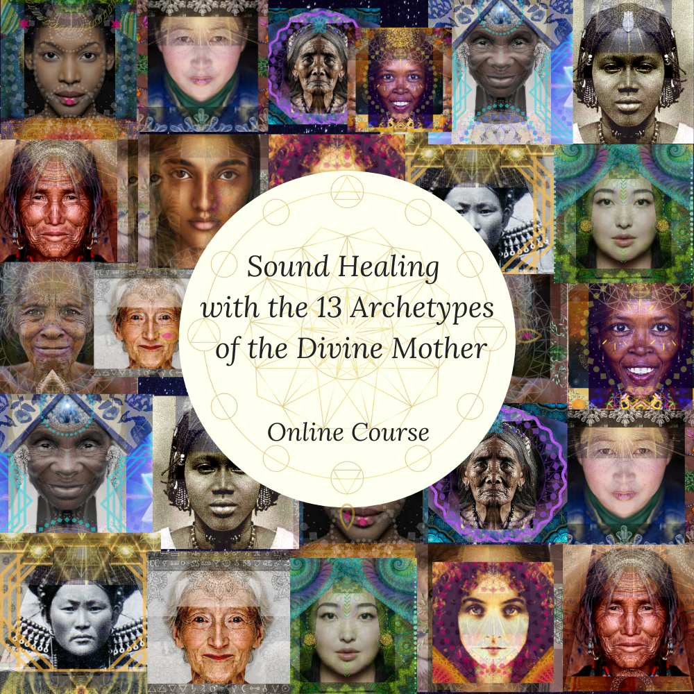 The Thirteen Course Sound Healing of the 13 architypes