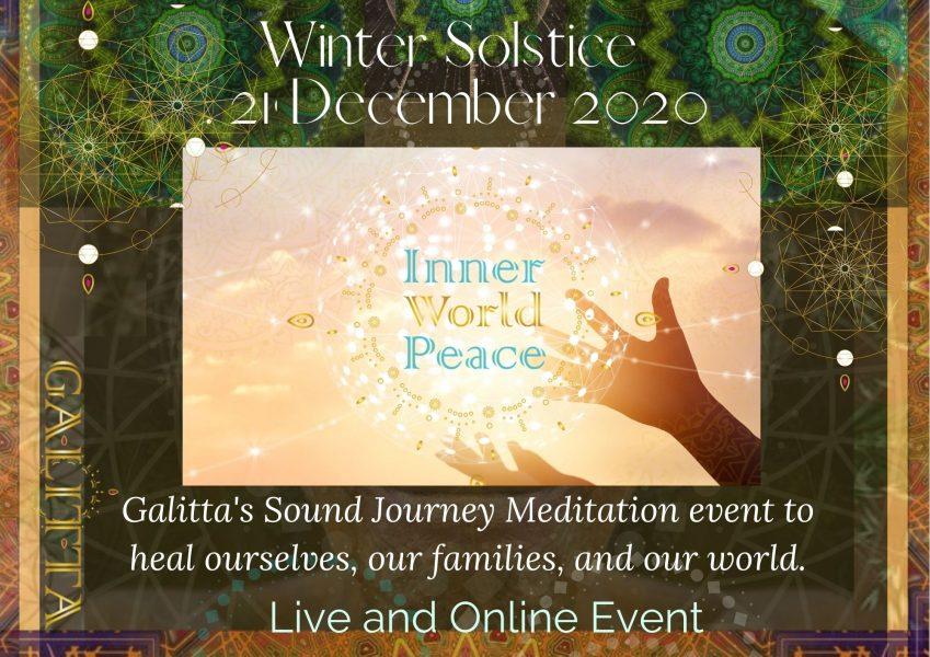 21 Dec 2020 Winter Solstice Inner World peace