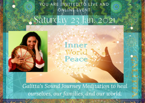 Inner World Peace: Sound Meditation Event: #2