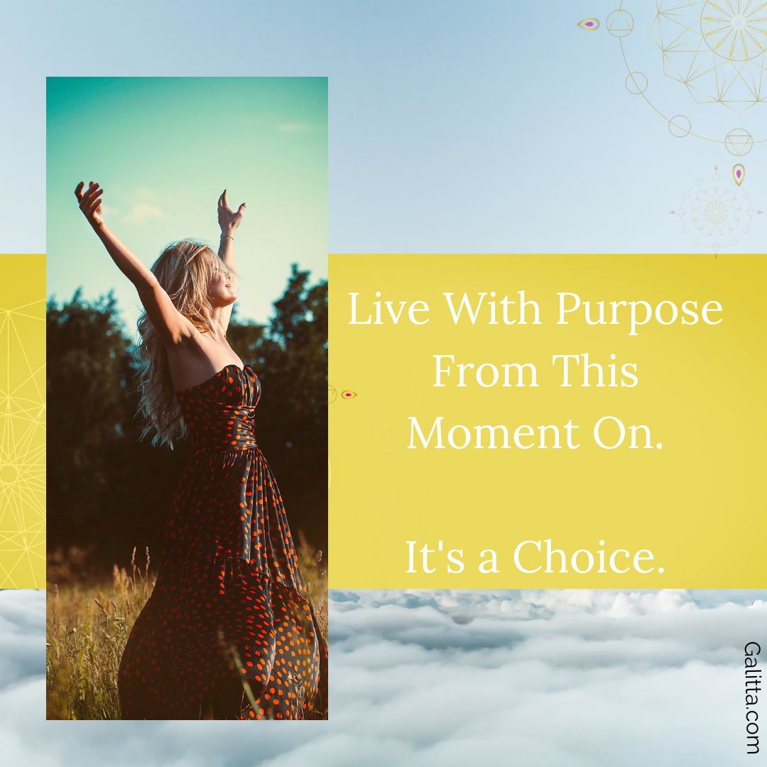 Live with Purpose Spring blog