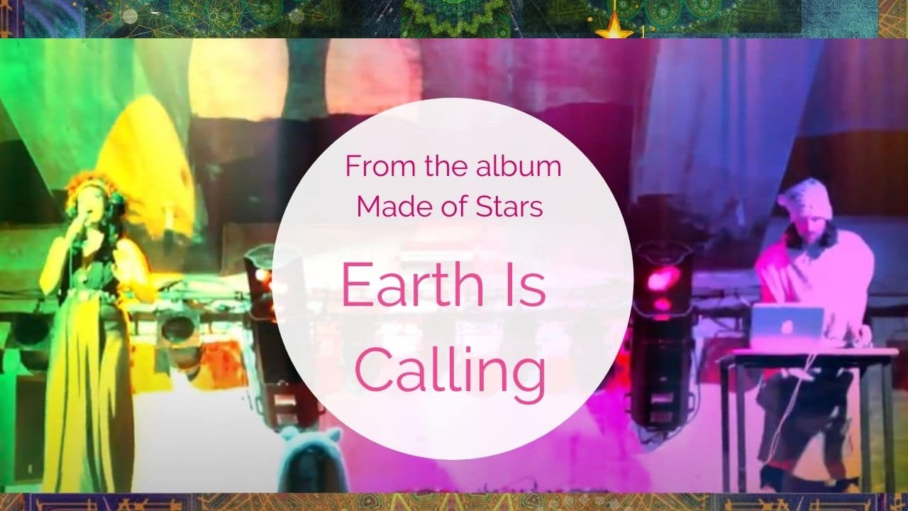 Earth is calling Song from the album Made Of Stars By Leo melcherts jr and Galitta